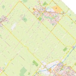 Southern Ontario Map - Halton